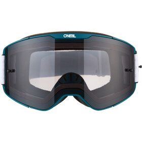 O'Neal B-20 Goggles Plain, teal/red-gray
